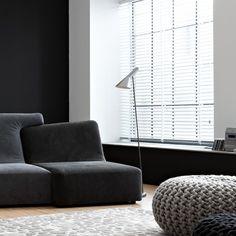 Via Dec Design e Casa | Black and White | AJ Floor Lamp