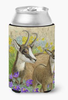Chamois by Sarah Adams Can or Bottle Hugger ASAD0789CC