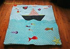 oh mon bateau, tapis d'éveil : Jeux, peluches, doudous par craquante-creation sur ALittleMarket