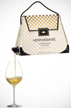 A handbag that doubles up as a wine cask. Alcoholics rejoice!