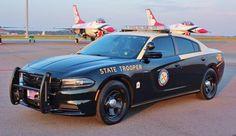 Florida, Florida Highway Patrol, Dodge Charger sedan.
