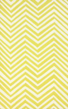 Nuloom HJHK04N-508 Heritage Collection Mustard Finish Hand Hooked Chevron Area rug