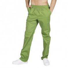 Pantalón sanitario con goma y bolsillos