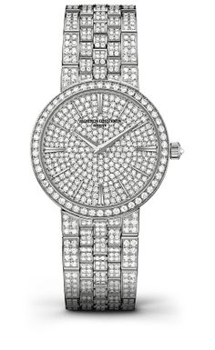 Montre haute joaillerie Vacheron Constantin http://www.vogue.fr/joaillerie/shopping/diaporama/montres-haute-joaillerie-diamants-full-pavees/16442/image/884395#!montre-haute-joaillerie-vacheron-constantin
