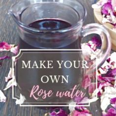 Homemade Rose Water Discover revitalizing rose water benefits, its uses in cosmetic and in other areas, DIY video and easy steps how to make your own rose water Natural Home Remedies, Natural Healing, Herbal Remedies, Natural Oil, Cold Remedies, Holistic Healing, Health Remedies, Natural Rose Water, Asthma Remedies