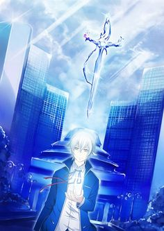 K Project ~~~ The Colorless King and his Celestial Sword. Isana Yashiro