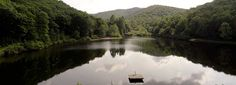 Sherando Lake in the Shenandoah Valley - great family campground, lake with beach, hiking, $25, electric- no water