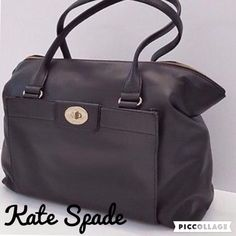 New W/Tags! Kate Spade Authentic Black Satchel GORGEOUS Black Hampton Road Kate Spade Satchel!  BRAND NEW WITH TAG AND PACKAGING!  Original price of $448.00.  You will be extremely pleased with this quality! kate spade Bags Satchels