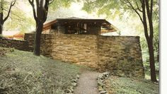 Another great Frank Lloyd Wright home. Not far from Fallingwater. You can hit both homes in one day. The owner of this home is also an art collector.  There is an amazing sculpture garden on the grounds, full of famous artists. There is also a section of the Berlin Wall.