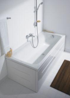 D-Code badekar fior innbygning, 3900kr comfort. Duravit (160x70 cm)