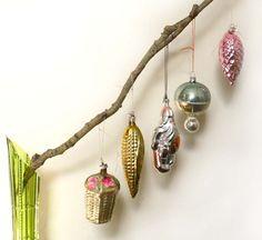 Antique vintage christmas tree decorations mercury glass ornaments