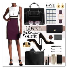 """""""60 Second Style: Job Interview"""" by esch103 ❤ liked on Polyvore featuring McKleinUSA, Mark & Graham, House of Doolittle, Jimmy Choo, Speck, Dolce&Gabbana, Michael Kors, Bungalow 20, Diane Von Furstenberg and Emily & Ashley"""