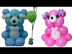 Curso de Globos Osito Cariñoso Parte II Balloons - YouTube