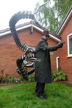 Cosplay: Doctor Octopus #marvel #droctopus #cosplay