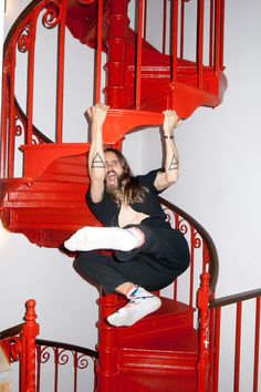 Jared Leto photo by Terry Richardson