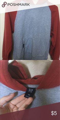 GAP hoodie sweatshirt More of a medium instead of XXL Tops Sweatshirts & Hoodies