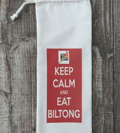 Biltong bags – the perfect gift for a special man. Biltong, Gift Bags, Cool Gifts, Reusable Tote Bags, Calm, Cool Stuff, Men, Goody Bags, Treat Bags