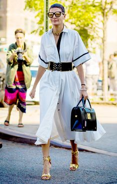 The Coolest Fall Styling Trick No Matter Your Body Type via @WhoWhatWear
