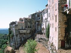Saint Paul de Vence, set on a hilltop overlooking the French Riviera . . . stunning views!