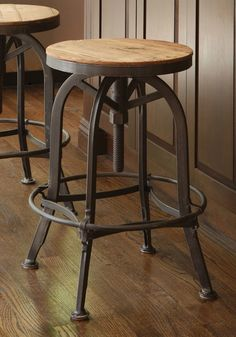 Creative Metal Iron Source Tall Wrought Iron Bar Chairs