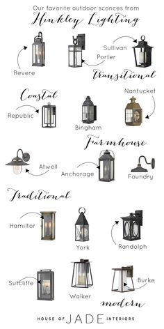 Choosing Exterior Lighting with Hinkley Lighting Outdoor Sconces, Outdoor Lighting, Outdoor Light Fixtures, Outdoor Walls, Garage Lighting, Exterior Garage Lights, Outside Garage Lights, Front Porch Lights, Modern Exterior Lighting