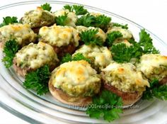 #recipe #Mushrooms with chicken and cheese http://1001recipes-online.com/mushrooms-with-chicken-and-cheese.html…