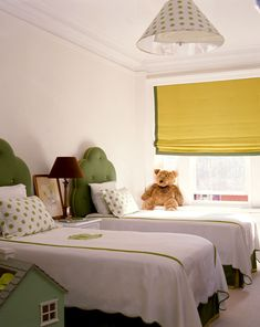 It All Hinges On...precious girl's room - love the yellow and green!