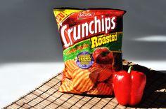 Ihr mögt Paprika und würziges Grillflavour? Dann wird dieser knusprige Snack mit Sicherheit euer Herz höher schlagen lassen!