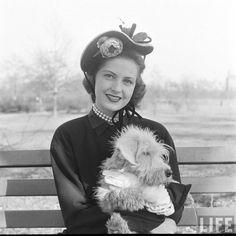 Nina Leen: Spring hats, 1948, March