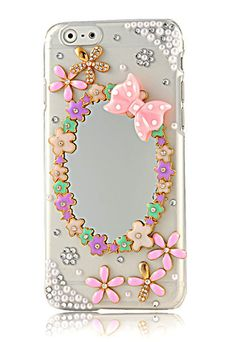Phone Cover Case iPhone 6 Flowers Mirror