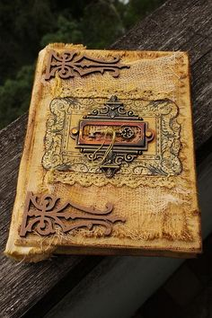 """Hello, amazing book.    Фотоальбомы ручной работы. Ярмарка Мастеров - ручная работа Винтажный альбом """"Ключ от прошлого"""". Handmade."""