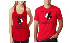 I'll Be Your Mickey / Minnie Disney Couple by ShineDesignsTees #ShineDesigns