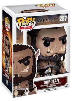 Funko Pop ! - World of Warcraft - Durotan Pop! 287 - Warcraft Funko Pop!
