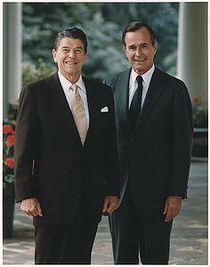 Reagan and George Bush Sr.Presidents Ronald Reagan and George Bush Sr.Ronald Reagan and George Bush Sr.Presidents Ronald Reagan and George Bush Sr. Past Presidents, Greatest Presidents, American Presidents, 40th President, President Ronald Reagan, Us History, American History, Reagan Library, Presidential History