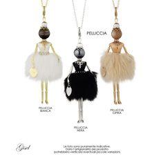 Gisel - Artecora || Produzione Gioielli, Italy Kokeshi Dolls, Bead Jewellery, Gold Art, Tassel Necklace, Necklaces, Bracelets, Doll Accessories, Tassels, Jewelry Making