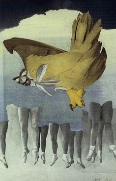 Hannah Hoch, Never Keep Both Feet on the Ground, c. 1930.