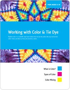 Group Tie-Dye Instructions - has some great lesson plans for 5-10  and 12-17 year olds.