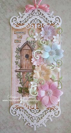 Designs by Marisa: Heartfelt Creations Wednesday - Thinking of You Tag Heartfelt Creations Cards, Decorative Plates