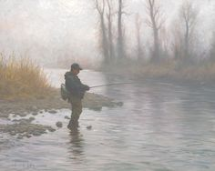 """A Foggy Morning on the River"" by Robert Duncan"