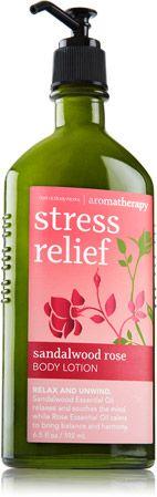 Sandalwood Rose Body Lotion - Aromatherapy - Bath & Body Works