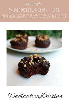 Sukkerfrie og smakrike sjokolade- og peanøttdoughnuts fra DedicationKristine | Sukkerfri kake | Doughnuts oppskrift | Sommeroppskrifter | Dessert oppskrift | Kake oppskrift | Sukkerfri bakst | Sukkerfri dessert