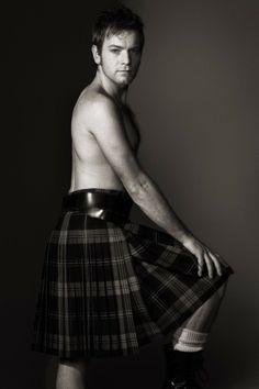 Ewan McGregor by Patrick Lichfield.