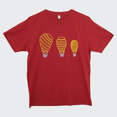 Still trying to figure out if they're balloons or bulbs? Get the Balloon Bulbs tee in Dark Red for 18 with free UK delivery at www.inkytrail.com (link in bio) and try and find the answer #illustration #tshirtdesign #handdrawn #balloons #hotairballoon #screenprint #permaset #art #design #tshirt #independentclothing #streetwear #inkytrail by inkytrail