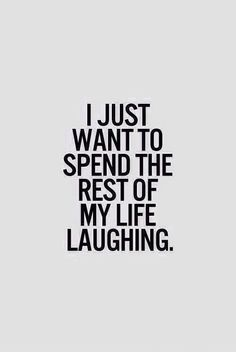giggling and a good laugh can make my day