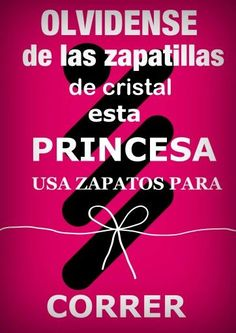 OLVIDENSE DE LAS ZAPATILLAS DE CRISTAL ESTA PRINCESA USA ZAPATOS PARA CORRESR