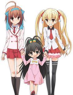 Sora, Hina & Miu ~ Papa no Iukoto wo Kikinasai! Fan Anime, Anime Nerd, Slice Of Life Anime, My Escape, My Daddy, Anime Shows, You Are The Father, Me Me Me Anime, My Girl
