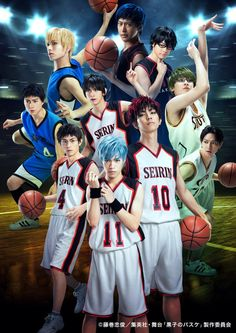 Kuroko's Basketball - neues Bild zeigt 10 Cast Member der Theater Adaption in Kostümen - http://sumikai.com/mangaanime/theater/kurokos-basketball-neues-bild-zeigt-10-cast-member-der-theater-adaption-in-kostuemen-120380/