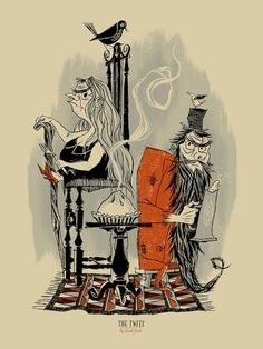 The Twits by Anne Benjamin.