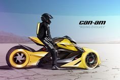 What a Can-Am Spyder Shoulda Been | Yanko Design
