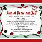 Sing of Peace and Joy is an elementary school choir 2 part song. Melody and Descant. Easy to learn and perform. Singers will enjoy the energetic ly...